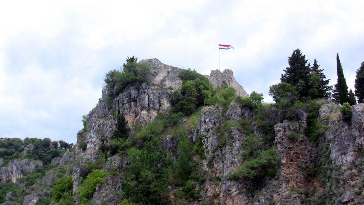 Pevnosť Topana, Imotski, Chorvátsko