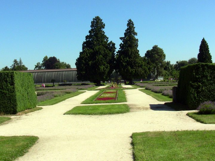 Park pri Lednickom zámku