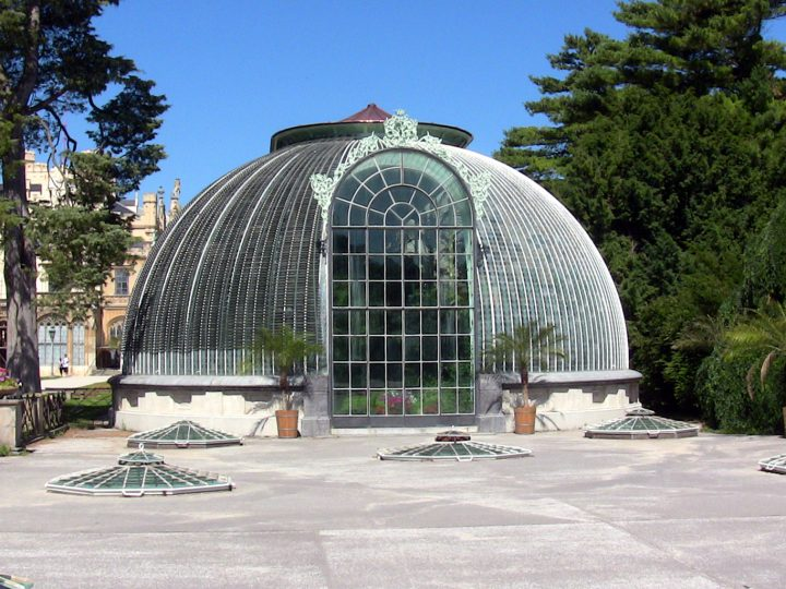 Zámok Lednice - skleník