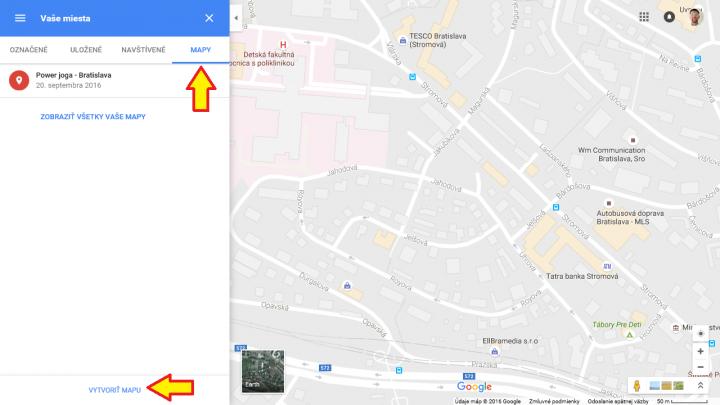 Google mapa 5