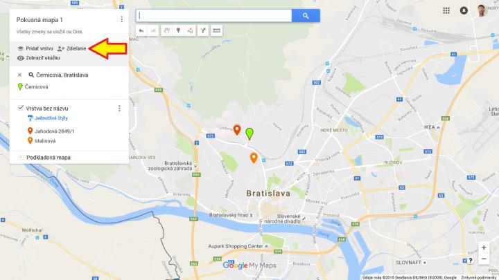 Google mapa 6