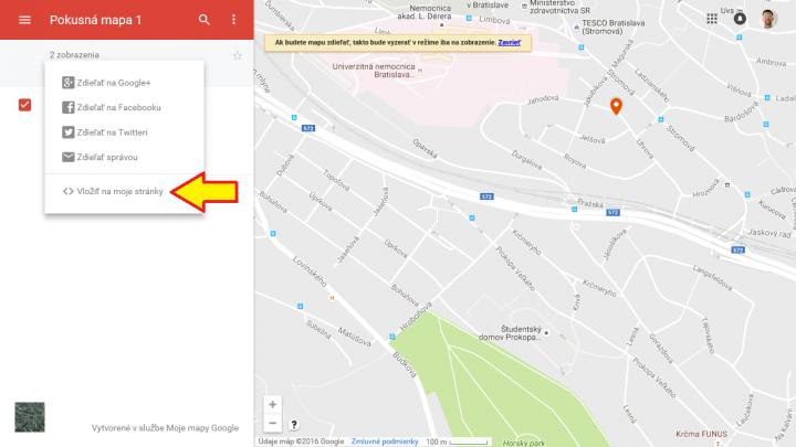 Google mapa 8