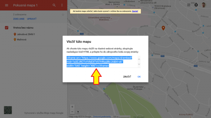 Google mapa 9